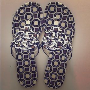 Tory burch sandals miller in patterns style